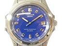 SEIKO セイコー CREDOR クレドール GCAX997 ブルー×シルバー メンズ クオーツ 腕時計 【中古】