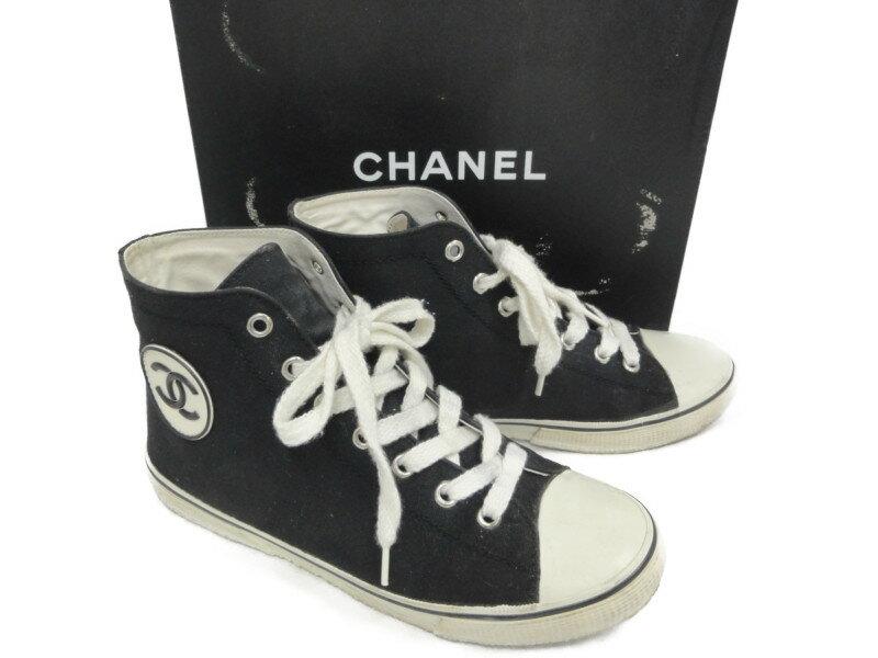 CHANEL sneakers womens CHANEL 36 23cm