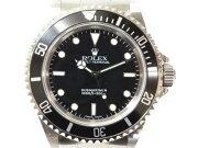 ROLEXロレックス14060サブマリーナノンデイト自動巻き時計A番フルコマメンズ【中古】