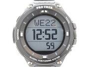 カシオプラトレックWSD-F20-BK腕時計スマートウォッチメンズレディース【中古】送料無料