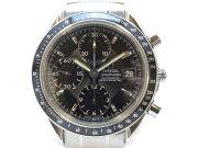 OMEGAオメガ3210.50スピードマスターデイトクロノグラフ自動巻きメンズ腕時計高級時計【中古】