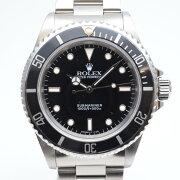 ROLEXロレックス14060T番(1996年頃)サブマリーナノンデイトブラック/シルバー腕時計メンズ4