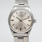 ROLEXロレックス5500エアキング1973年〜1974年頃シルバー/シルバー2021年3月HO済み腕時