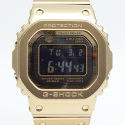 CASIOカシオGMW-B5000GD-9JFG-SHOCKゴールド電波ソーラーメンズ腕時計ゴールド/ブ
