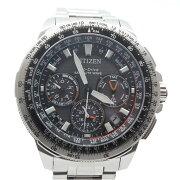 CITIZENシチズンCC9020-54EプロマスターエコドライブGPS電波メンズ腕時計チタンカレンダー