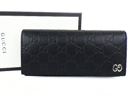 a896e5647e69 ブランドグッチ商品名シグネチャー レザー ロングウォレット型番481727素材シグネチャー レザー色ブラックサイズ約W19×H9.5×D3cm付属品純正箱保存用布袋程度N(未使用  ...