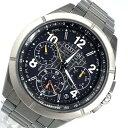 CITIZEN シチズン CC9075-61E アテッサ エコドライブ 腕時計 メンズ ソーラー電波 GPS 黒文字盤 クロノグラフ 記念モデル F900-T023517 カレンダー デイト 日付表示 管理RY21001218