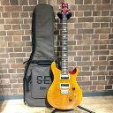 未使用 PRS Paul Reed Smith  SE  CUSTOM 24 N VY ヴィンテージイエロー エレキギター 楽器 管理RM1596