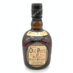 Old Parr オールドパー 12年 De Luxe スコッチウイスキー Scotch whisky 未開栓 お酒 アルコール 43度 750ml 管理RT24191