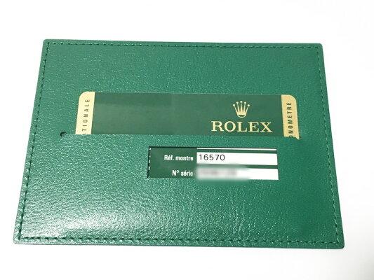 ROLEXロレックス16570エクスプローラ2ステンレスSS自動巻メンズZ番黒文字盤【中古】かんてい局亀有店