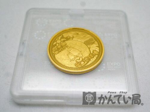 K24 純金 2005年愛・地球博記念1万円金貨 ゴールド コイン 記念 万博 未使用品 かんてい...