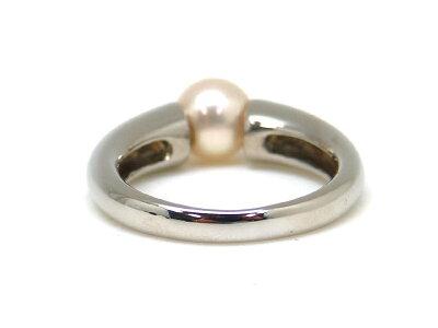 Pt900プラチナパールアコヤ真珠ファッションリング指輪約12号レディースジュエリーアクセサリ宝石USED-SA【】新品仕上げ済みかんてい局茜部店a17-3494