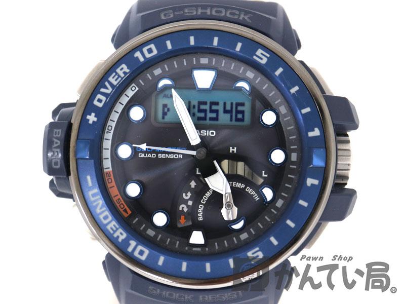 腕時計, メンズ腕時計 CASIO GWN-Q1000A-2AJF G-SHOCK USED-10 a19-10451