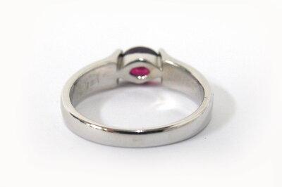 【Pt900】プラチナルビーファッションリング指輪約13号レディースジュエリー【/仕上げ済み】a16-462かんてい局茜部店