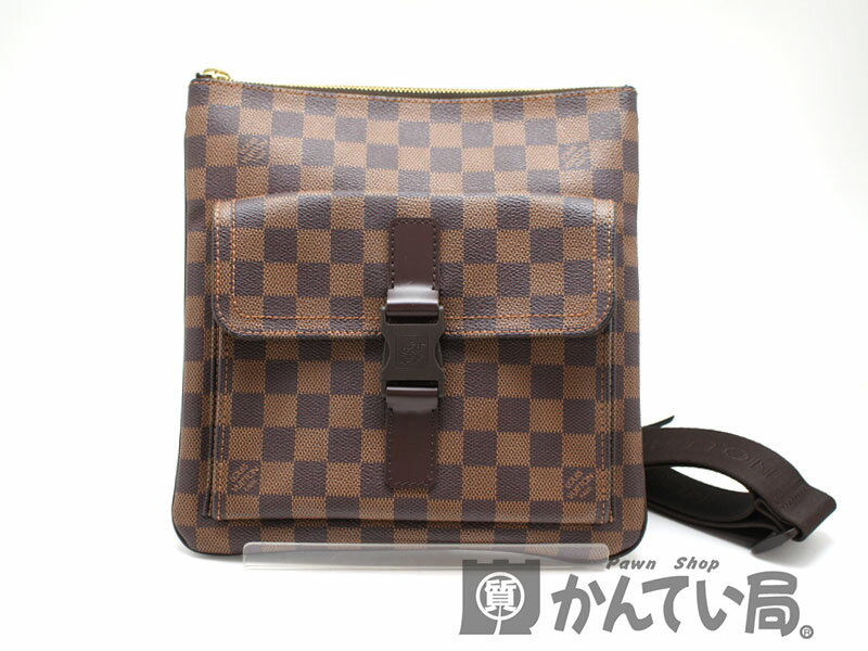 LOUIS VUITTON N51127 ポシェット・メルヴィール 【ルイヴィトン】 ダミエ ショルダーバッグ 【中古】 USED-A 質屋かんてい局北名古屋店 n17-1846:質屋かんてい局