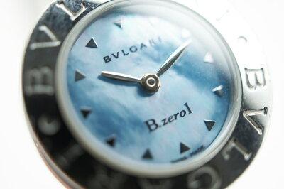 BVLGARIBZ22SB-ZERO1バングルウォッチシェルブルー【】n16-6114かんてい局北名古屋店