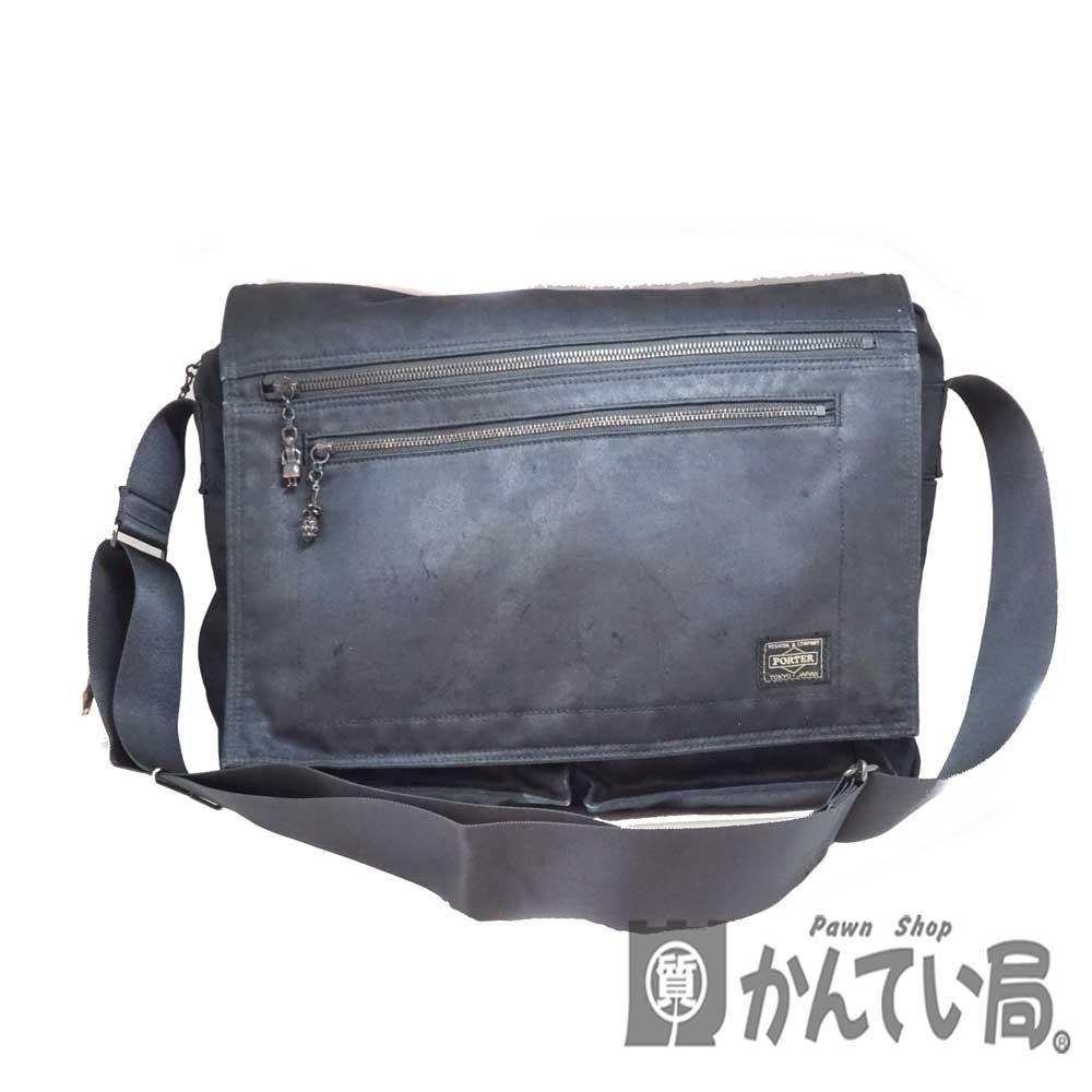 男女兼用バッグ, ショルダーバッグ・メッセンジャーバッグ PORTER USED-6 n20-1734