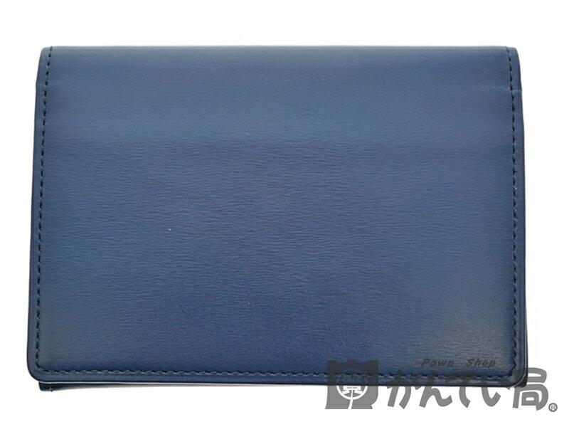 土屋鞄製造所『ボックスカーフ フラップカードケース』