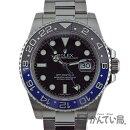 ROLEX【ロレックス】116710BLNRGMTマスター2SSランダム品番セラミックベゼルカレンダー腕時計メンズ自動巻きブルー×ブラックベゼルバットマン【中古】かんてい局小牧店c19-3461