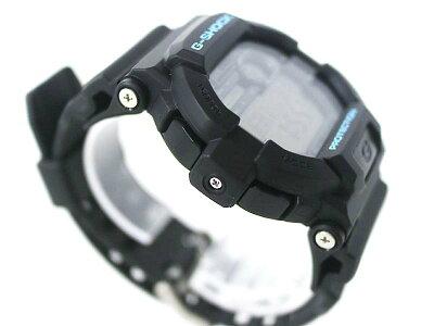 CASIO【カシオ】GD-350G-SHOCKジーショックメンズブラック×青ラバースポーツ腕時計クオーツ電池式【】USED-S質屋かんてい局小牧店c17-927
