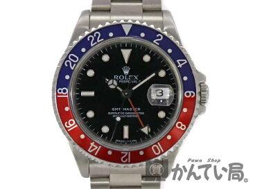 ROLEX【ロレックス】16700 GMTマスター1 青×赤 ペプシカラー メンズ 自動巻き 腕時計【中古】USED-SA かんてい局小牧店 c17-6751