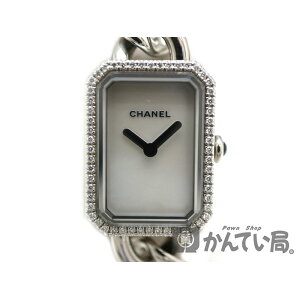 CHANEL H3253 Premiere Watch Quartz Battery Operated Diamond Mother of Pearl Stainless Steel [Used] USED-8 Pawn Shop Kantai Bureau Akane Department Store a19-4365