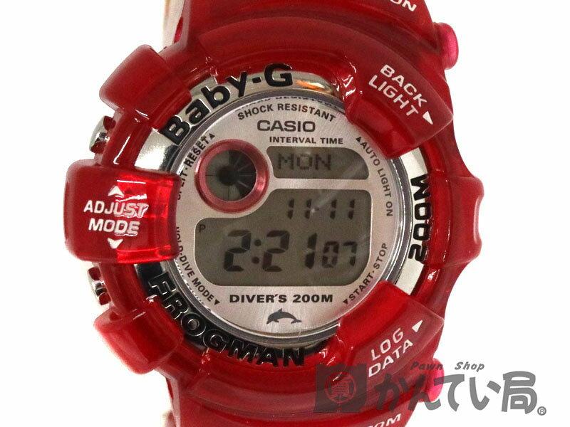 腕時計, メンズ腕時計 CASIO BGW-104K Baby-G 200m USED-6 a19-10241