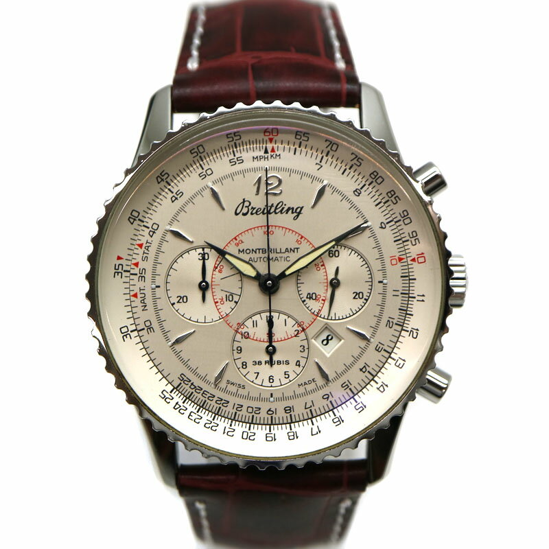 腕時計, メンズ腕時計 BREITLINGA41030 SS USED-9 A21-1766