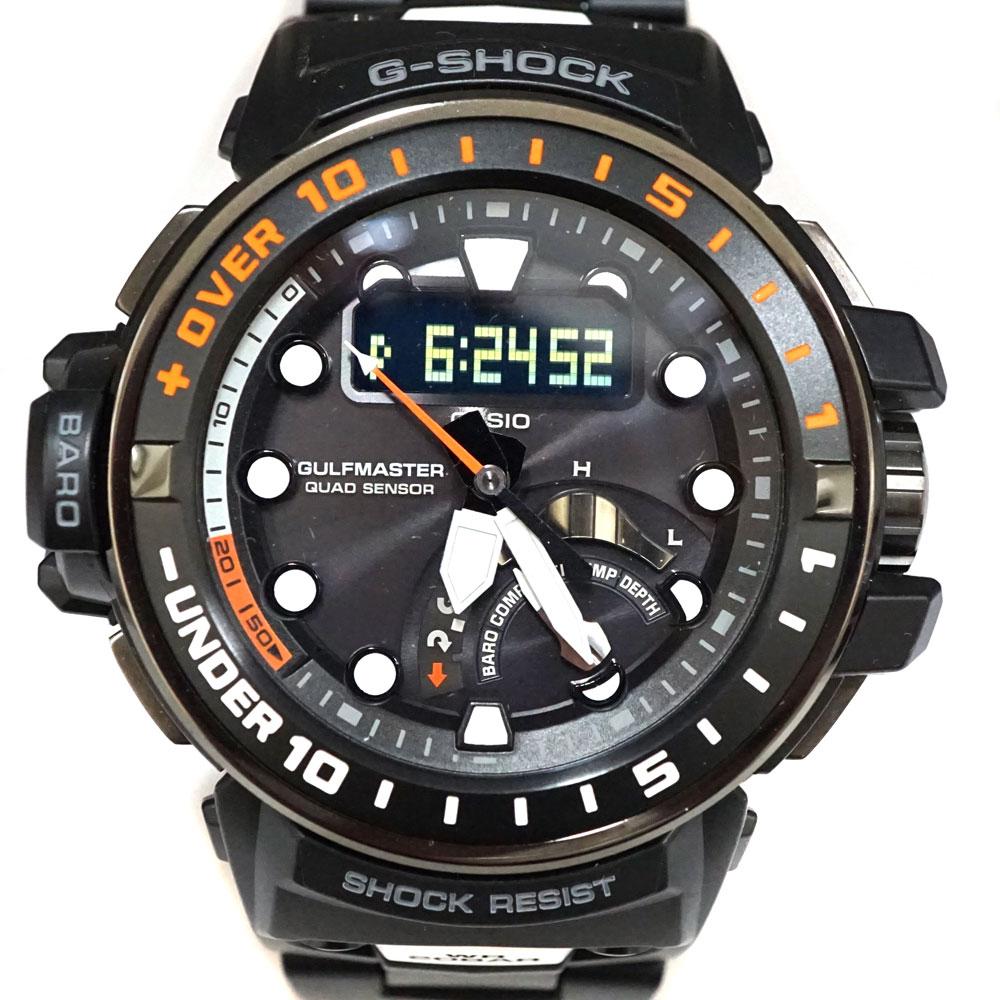 腕時計, メンズ腕時計 CASIOGWN-Q1000MC G-SHOCK USED-8 n21-2211