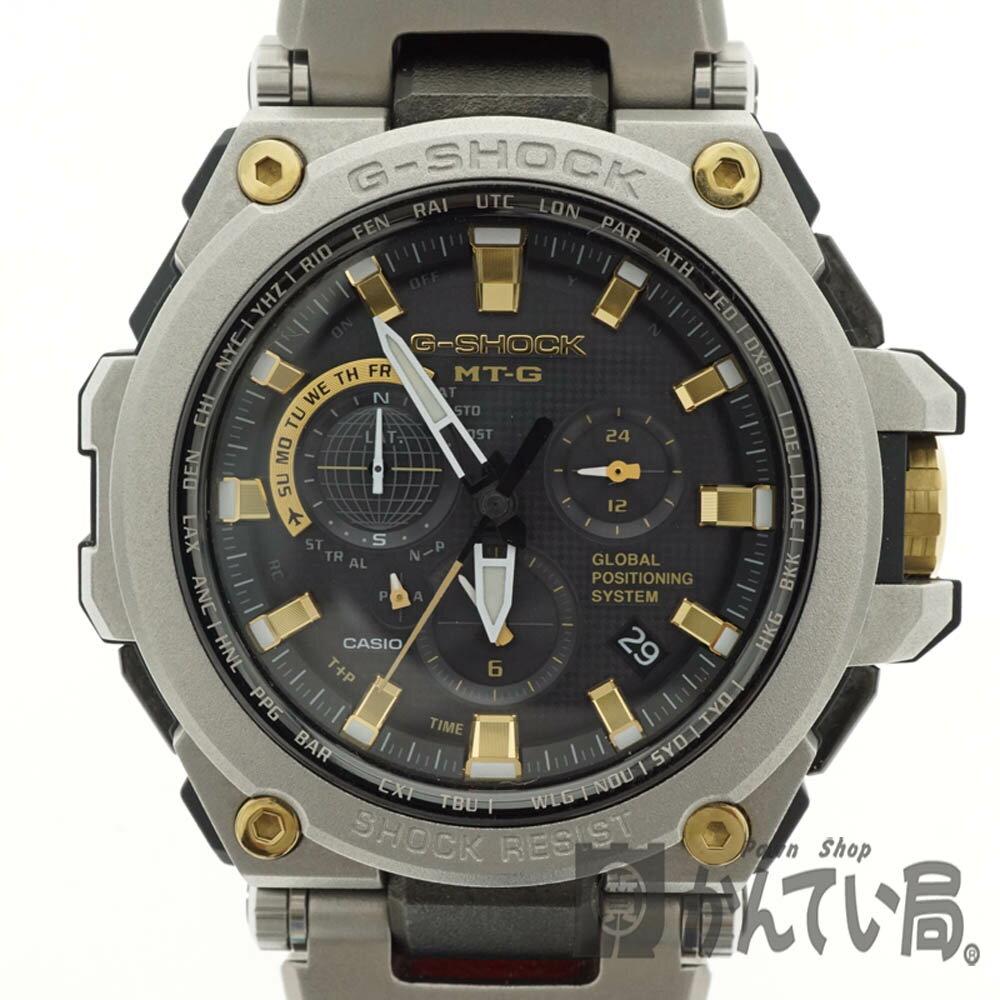 腕時計, メンズ腕時計 CASIO MTG-G1000SG-1AJF G-SHOCK MT-G SS USED-7 h2002421