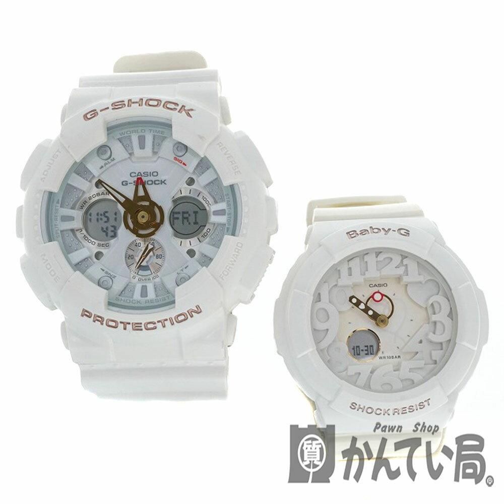 腕時計, ペアウォッチ CASIOLOV-12A-7AJR LOVERS GA-120LA BGA-131LA G-SHOCK Baby-G 2012 USED-7 h2005692