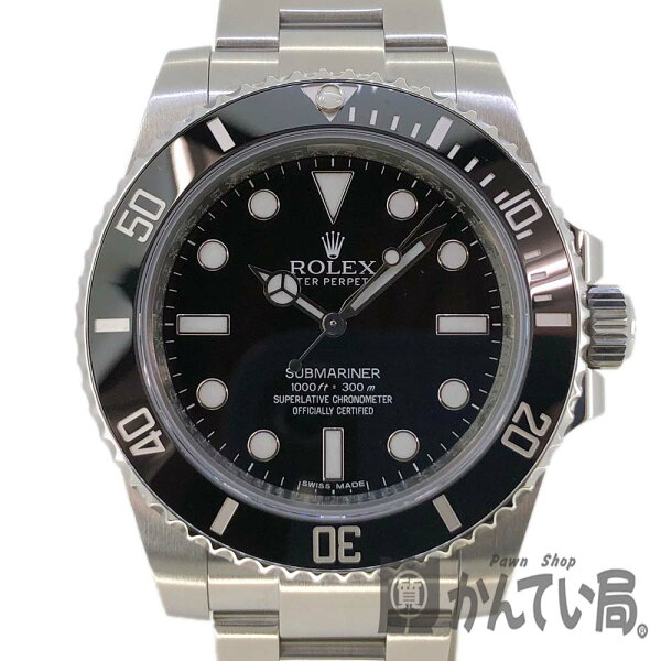 ROLEX ロレックス 114060サブマリーナーノンデイトダイバ—ズG番メンズ腕時計自動巻き2012年ギャラUSED-SA 中