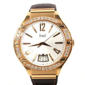 PIAGET【ピアジェ】 G0A38159 ポロ ウォッチ K18PG ダイヤモンド 自動巻き 腕時計 【中古/USED-...
