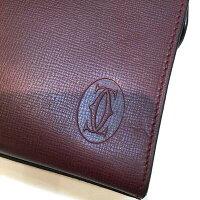 Cartier【カルティエ】マストラインセカンドバッグメンズレザーボルドー【中古/USED-B】g18-585
