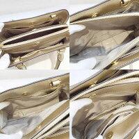 MichaelKors【マイケルコース】30S6MS7S1M2WAYショルダーバッグシャンパンゴールド【美品】【USED-A】【目玉】g18-543