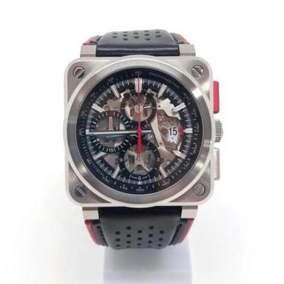 BELL&ROSS【ベル&ロス】【中古/USED-B】BR 03-94-AERO-GT 自動巻 フェラーリ 250GTOモデル 世界限定500本 エアロGT 時計 k19-177