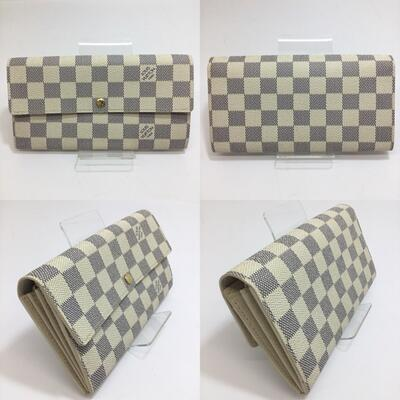 財布・ケース, レディース財布 LOUIS VUITTON N61735 CA2078 W19cmH10.5cmD3.0cm 2 1 10 USED-Bn18-4565