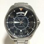 ハミルトンHAMILTONカーキアビエーションパイロット腕時計メンズ自動巻H646150