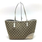 GUCCI【グッチ】169946トートバッグGGロゴ【中古/USED-A】【美品】【目玉】k17-4690