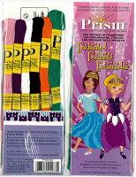 DMCPrismプリズムミサンガ用刺しゅう糸6本セットEnchanteマイフレンドシップブレスレットメーカー用