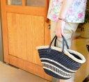 毛糸蔵かんざわオリジナルキットモードクラフトとエコアンダリヤのかごバッグ01