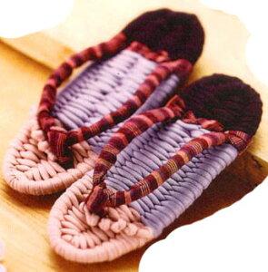 バランスの良い体は、健康な足づくりから「やんわり part4 凛」panami健康布ぞうりキット