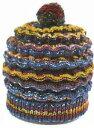 ☆ベルンド・ケストラーのK−ウェイブキャップ2 BK-7 内藤商事 オリジナルキット 毛糸 編み物