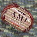 新製品 あーみ AMI ニッケビクター 【KY】 毛糸 手編み糸 編み物 並太 段染