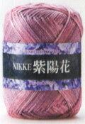 nikke紫陽花nikkebikuta春天夏天毛線毛線織毛衣財線