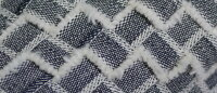 リユースデニムのバッグキット◎リユースデニム毛糸蔵オリジナルキット編み物キット