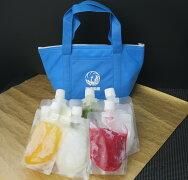 歌舞伎座×四代目大野屋氷室歌舞伎座の飲むかき氷6個セットオリジナル保冷バッグ付き