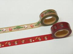 歌舞伎座×チェブラーシカマスキングテープ2個セット(連獅子・紋付)