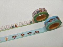 歌舞伎座×チェブラーシカマスキングテープ2個セット(娘道成寺・七福神)
