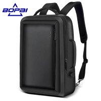 メンズビジネスリュックビジネスバッグ20Lメンズ鞄男性お父さん通勤出張リュックサック革バッグフォーマル上質